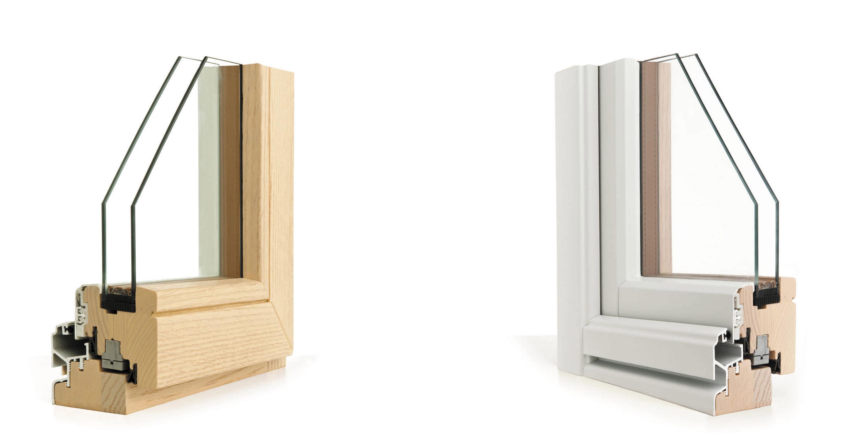 legno e alluminio_spaccato